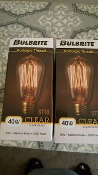 Bulbrite 40w clear Arlington