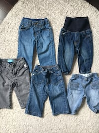 Lot of jeans 6-12 months  Laval, H7G 0E7