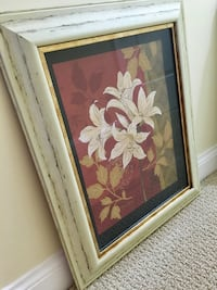 Picture with Distressed Frame Alexandria
