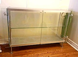European Glass Display Cabinet