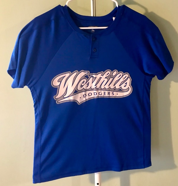 e47d23c26 Used Blue and white Dodgers jersey shirt for sale in Monterey Park - letgo