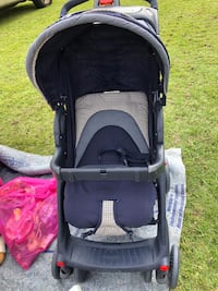 baby's black and gray stroller Hollywood, 33021
