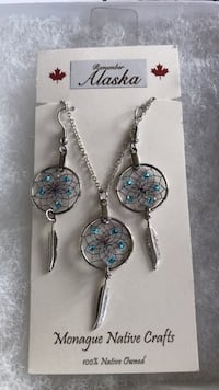 Dream Catcher earrings and necklace set Cranford, 07016