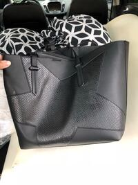 black leather tote bag with wallet Orlando, 32821