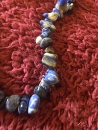 Sodalite necklace large 28 inches Asheville