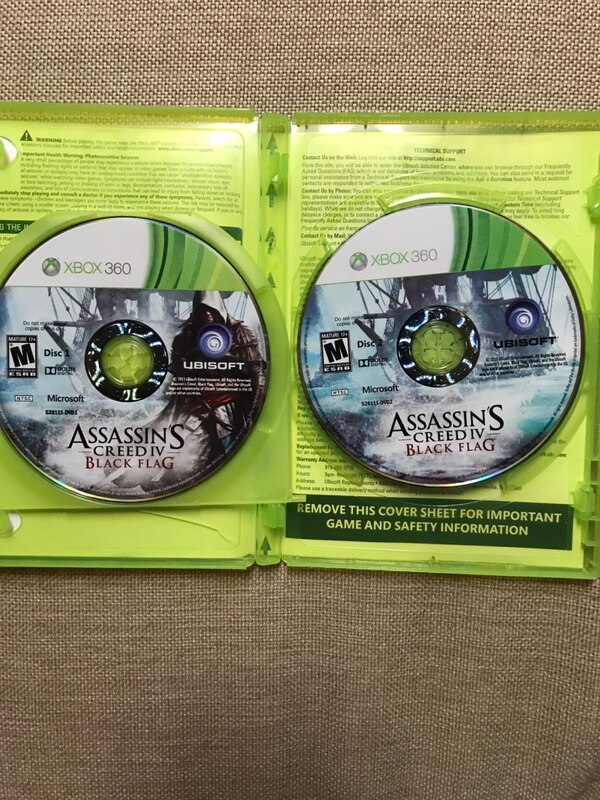 Used Assassin S Creed Black Flag Gamestop Edition For Xbox 360