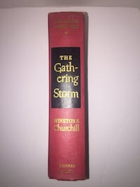 Vintage Hardcover Winston Churchill The Gathering Storm (Thomas Allen)