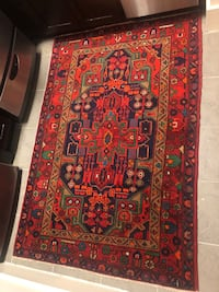 """Persian Rug (57x43"""") - Red"""