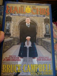 Bruce Campbell autographed biography
