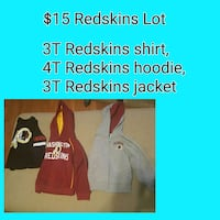 Toddler Redskins Lot Martinsburg, 25405