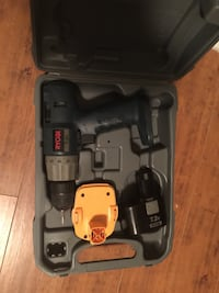 black and gray cordless power drill Charlotte, 28210