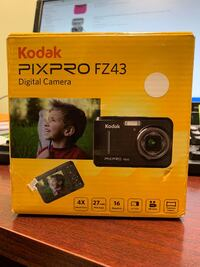 "Kodak PIXPRO Friendly Zoom FZ43-BK 16MP Digital Camera with 4X Optical Zoom and 2.7"" LCD Screen Toronto"