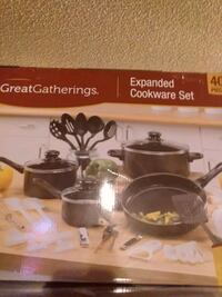 Expanded cookware set 40 piece