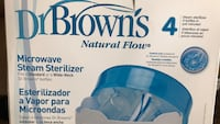 New DrBrown's Natural Flow Microwave Steam Sterilizer Toronto, M6N 2K5