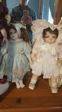 Doll collection. All must go