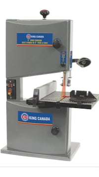 """King Canada 9"""" band saw with laser. Richmond, V7C 3H1"""