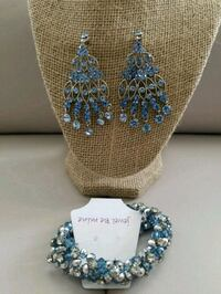New blue rhinestone set Surrey, V3X 3M5