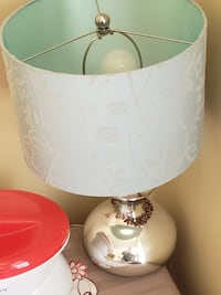 white and pink table lamp Toronto, M2R 3V8