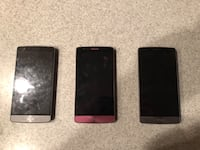 Lot of 3 LG G3 phones Huntington Beach, 92646