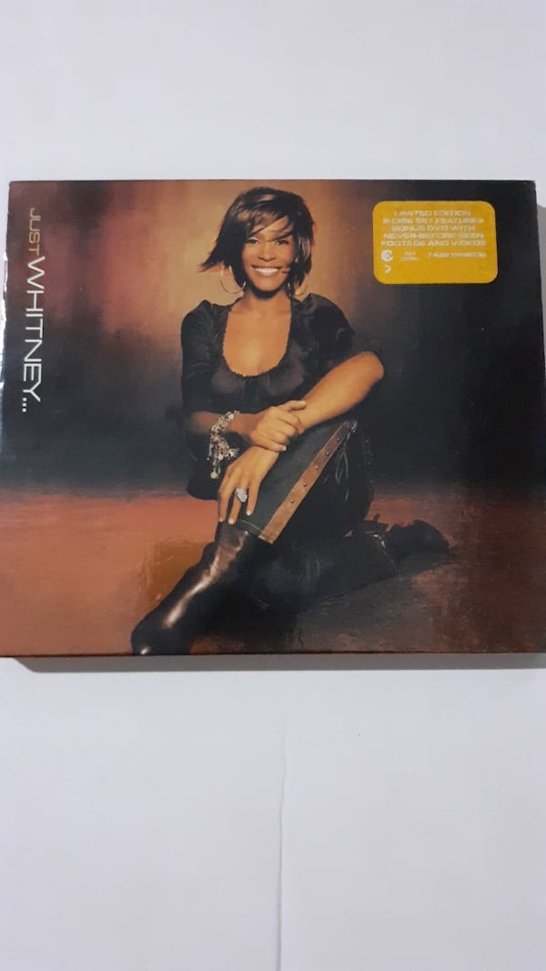 Whitney houston just whitney limited edition cd albüm ve DVD 0824509f-a887-486c-8a39-052a6ae77618