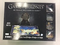 Game of Thrones 4D Puzzle - BRAND NEW SEALED! Mississauga, L5J 1J7
