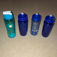 Sports drink bottles, unused and new