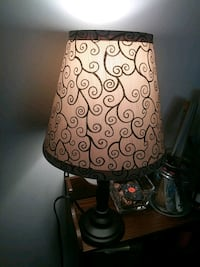 brown and white table lamp Hickory, 28601