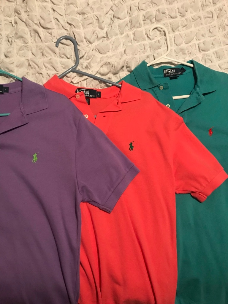 Red Shirts Polo And Lacoste Blue 45LARc3jSq
