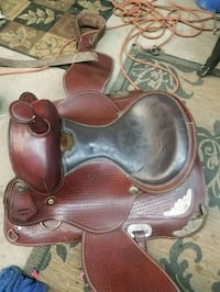 15 inch western pleasure saddle