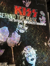 KISS BEHIND THE MASK hardcover $10 Vancouver, V5R 5J4