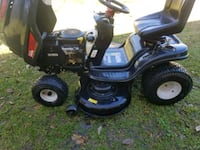 black and green ride-on mower Beaumont, 77703