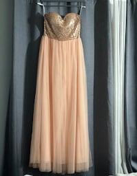 Rose gold long gown American Canyon, 94589