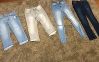 All Juniors Size 7 Name Brands & Super Cute Jeans! Chillicothe, 45601