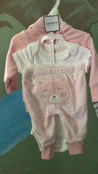 3 piece baby girl 3 month outfit Youngstown, 44512