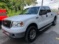 2008 Ford F-150 4x4 XLT 4dr SuperCrew Styleside 5.5 ft. SB 110,000 miles Beltsville, 20705