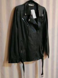 """""""Just Fab"""" Motorcycle Style Jacket"""