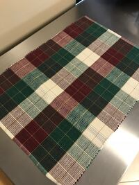 6 placemats fabric cloth made in India