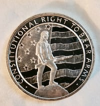 Right to Bear Arms .999 silver ounce round
