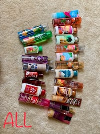 Bath and body lotions and sprays Martinsburg, 25403