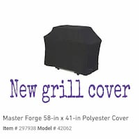 New grill cover