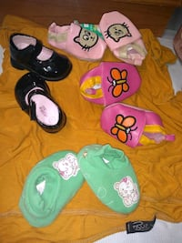 nb thru 4W toddler girls shoes great condition!!!  Jacksonville, 72076
