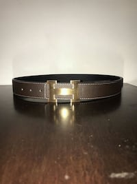 100% authentic reversible brown and black Hermes belt size: 30-38 Toronto, M4C