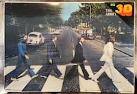 The Beatles Abbey Road 3D Poster Pyramid America 18.5 in X 26.5 in