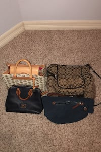 Used luxury purses