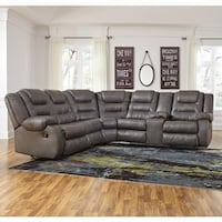 BIGSALE Espresso or gray leather sectional available reclining sectional recliner  Jacksonville, 32246