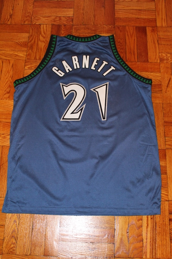 Used Authentic Nba Reebok Minnesota Timberwolves Jersey For Sale