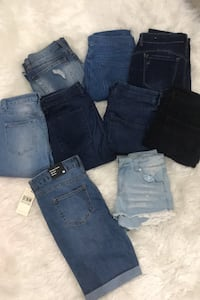 2 shorts 7 Jeans