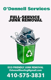 Junk removal Towson