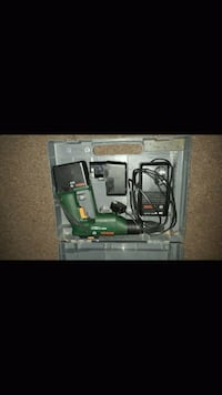 green and black corded power tool with case screenshot Milton Keynes, MK16 0PJ