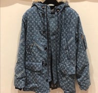 Louis Vuitton supreme denim parka London, N6J 1M3